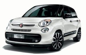 Noleggio Fiat 500 L la prima 66 srl auto roma e ladispoli