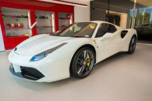 Ferrari 488 spider noleggio la prima 66 srl roma ladispoli