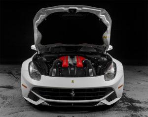 Ferrari motore noleggio supercar La Prima 66 srl a Roma e Ladispoli