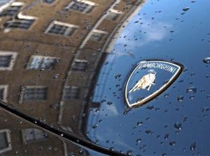Logo lamborghini noleggio supercar La Prima 66 srl Roma e Ladispoli